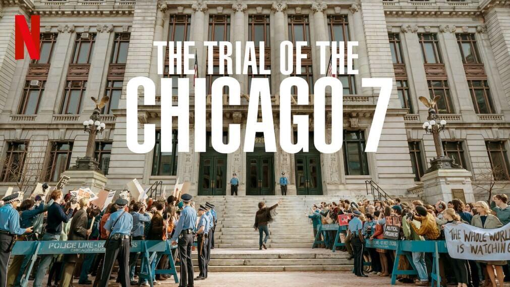 Crítica de 'El juicio de los 7 de Chicago': ocho hombres en pugna |  Cinemaficionados